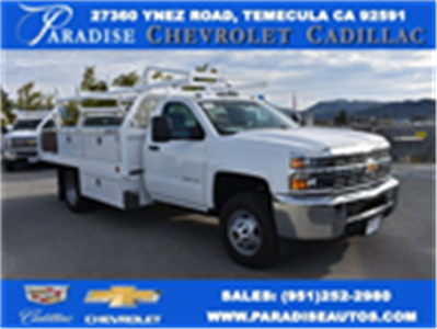 2017 Silverado 3500 Regular Cab DRW, Royal Contractor Bodies Contractor Body #M171144 - photo 1