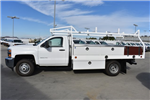 2017 Silverado 3500 Regular Cab DRW, Royal Contractor Bodies Contractor Body #M171144 - photo 5
