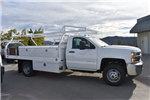 2017 Silverado 3500 Regular Cab DRW, Royal Contractor Bodies Contractor Body #M171144 - photo 8