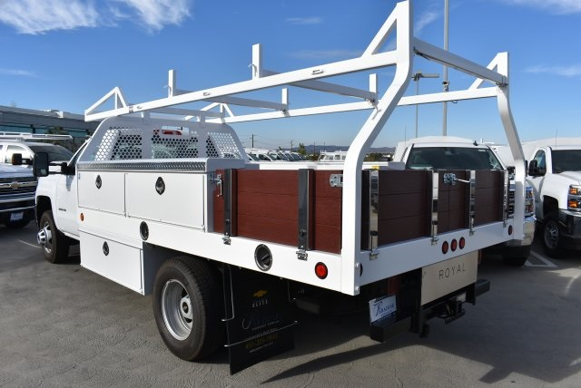 2017 Silverado 3500 Regular Cab DRW, Royal Contractor Bodies Contractor Body #M171146 - photo 6