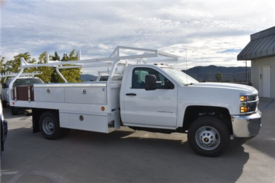2017 Silverado 3500 Regular Cab DRW, Royal Contractor Bodies Contractor Body #M171146 - photo 8