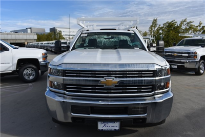 2017 Silverado 3500 Regular Cab DRW, Royal Contractor Bodies Contractor Body #M171146 - photo 3