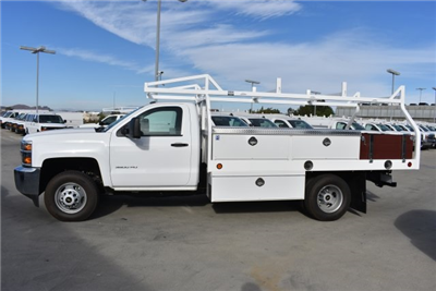 2017 Silverado 3500 Regular Cab DRW, Royal Contractor Bodies Contractor Body #M171146 - photo 5