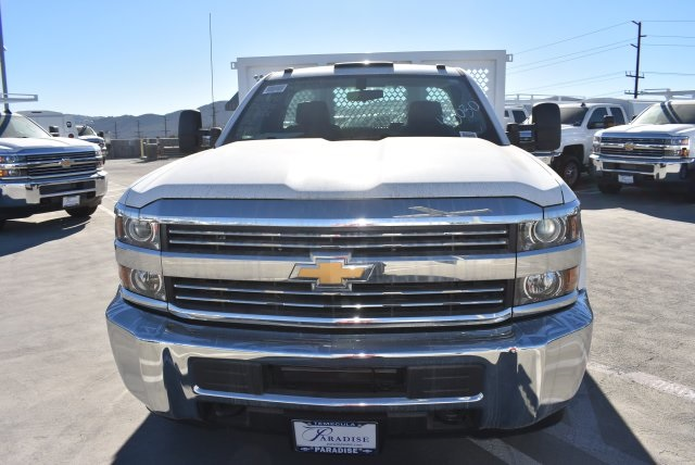2017 Silverado 3500 Regular Cab DRW 4x2,  Royal Platform Body #M171152 - photo 3