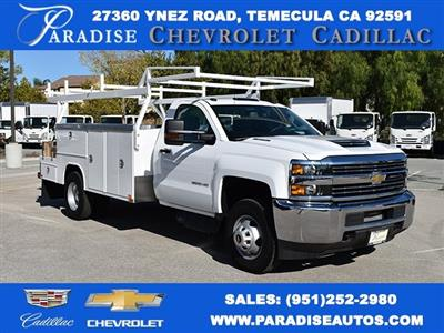 2017 Silverado 3500 Regular Cab DRW 4x2,  Knapheide Contractor Body #M171258 - photo 1