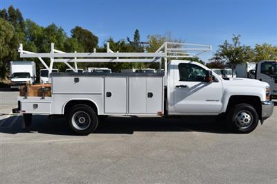 2017 Silverado 3500 Regular Cab DRW 4x2,  Knapheide Contractor Body #M171258 - photo 9