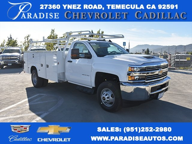 2017 Silverado 3500 Regular Cab DRW, Knapheide Standard Service Body Utility #M171262 - photo 1