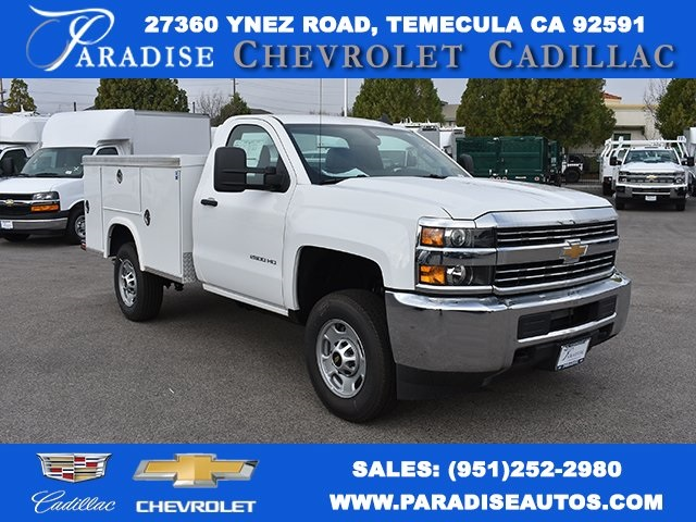 2017 Silverado 2500 Regular Cab, Royal Service Bodies Utility #M171355 - photo 1