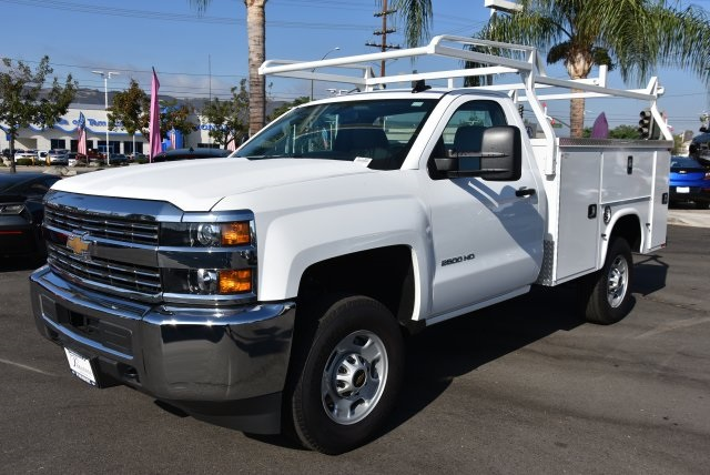 2017 Silverado 2500 Regular Cab 4x2,  Knapheide Utility #M171359 - photo 4