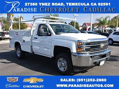 2017 Silverado 2500 Regular Cab 4x2,  Knapheide Standard Service Body Utility #M171359 - photo 1