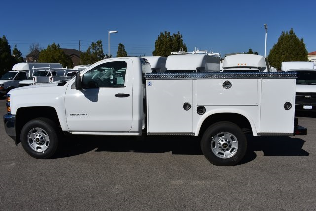 2017 Silverado 2500 Regular Cab,  Royal Service Bodies Utility #M171383 - photo 6
