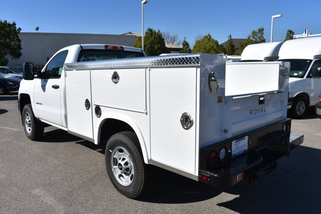 2017 Silverado 2500 Regular Cab,  Royal Service Bodies Utility #M171383 - photo 7