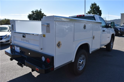 2017 Silverado 2500 Regular Cab,  Royal Service Bodies Utility #M171383 - photo 2