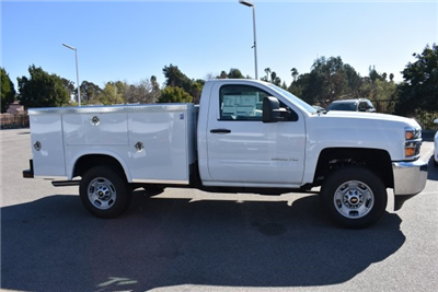 2017 Silverado 2500 Regular Cab,  Royal Service Bodies Utility #M171383 - photo 9
