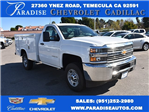 2017 Silverado 2500 Regular Cab,  Royal Service Bodies Utility #M171383 - photo 1