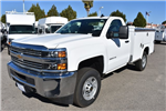 2017 Silverado 2500 Regular Cab,  Royal Service Bodies Utility #M171383 - photo 5