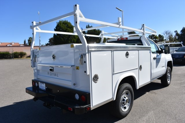 2017 Silverado 2500 Regular Cab, Royal Service Bodies Utility #M171385 - photo 2