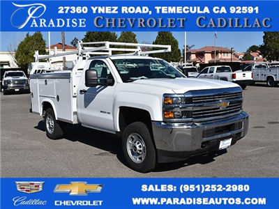 2017 Silverado 2500 Regular Cab, Royal Service Bodies Utility #M171385 - photo 1