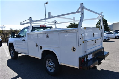 2017 Silverado 2500 Regular Cab, Royal Service Bodies Utility #M171385 - photo 7