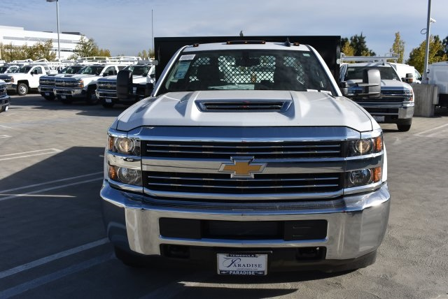 2017 Silverado 3500 Regular Cab DRW 4x2,  Harbor Platform Body #M171546 - photo 4
