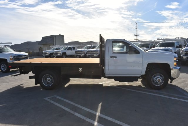 2017 Silverado 3500 Regular Cab DRW 4x2,  Harbor Platform Body #M171546 - photo 9