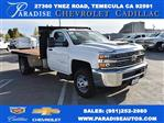 2017 Silverado 3500 Regular Cab DRW 4x2,  Harbor Platform Body #M171546 - photo 1
