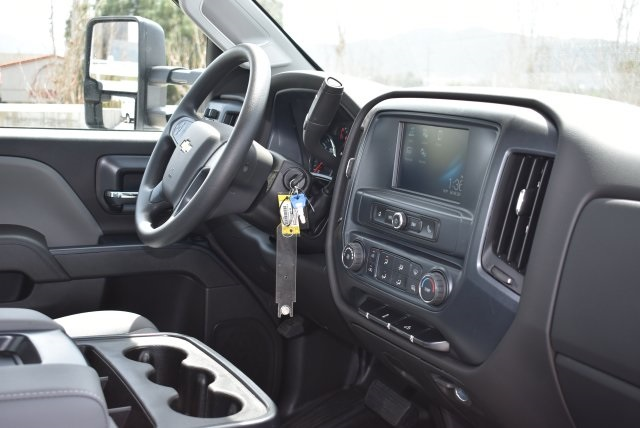 2017 Silverado 3500 Regular Cab DRW 4x2,  Harbor Contractor Body #M171687 - photo 15