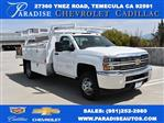 2017 Silverado 3500 Regular Cab DRW 4x2,  Harbor Contractor Body #M171687 - photo 1