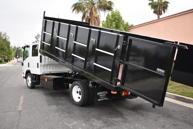 2017 LCF 4500 Crew Cab, Universal Truck Body, Inc. Landscape Dump #M17465 - photo 13
