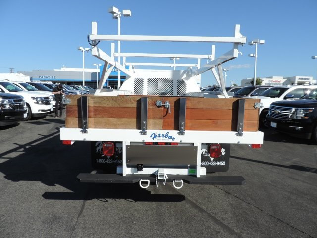 2017 Silverado 3500 Regular Cab DRW, Harbor Contractor Body #M17476 - photo 7