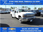2017 Silverado 3500 Regular Cab DRW, Harbor Contractor Body #M17476 - photo 1
