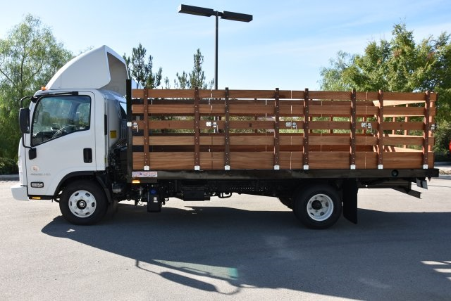 2017 LCF 4500 Regular Cab 4x2,  American Truck Bodies Flat/Stake Bed #M17485 - photo 6