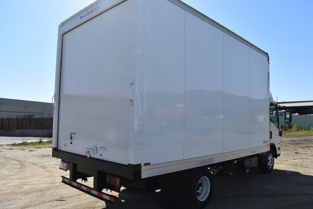 2017 LCF 4500 Regular Cab 4x2,  American Truck Bodies Straight Box #M17485 - photo 2