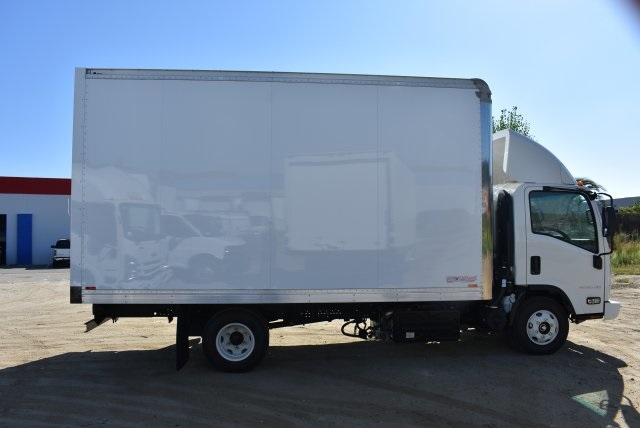 2017 LCF 4500 Regular Cab 4x2,  American Truck Bodies Straight Box #M17485 - photo 8