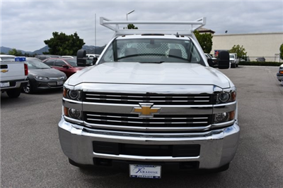 2017 Silverado 3500 Regular Cab DRW, Harbor Standard Contractor Contractor Body #M17672 - photo 4