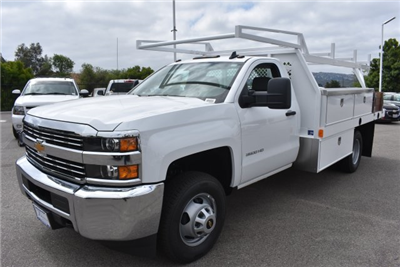 2017 Silverado 3500 Regular Cab DRW, Harbor Standard Contractor Contractor Body #M17672 - photo 5