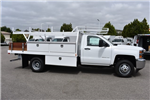 2017 Silverado 3500 Regular Cab DRW, Harbor Standard Contractor Contractor Body #M17672 - photo 9