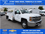 2017 Silverado 3500 Regular Cab DRW, Harbor Standard Contractor Contractor Body #M17672 - photo 1