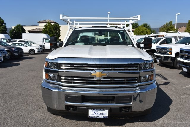 2017 Silverado 3500 Regular Cab DRW 4x2,  Harbor TradeMaster Utility #M17680 - photo 4