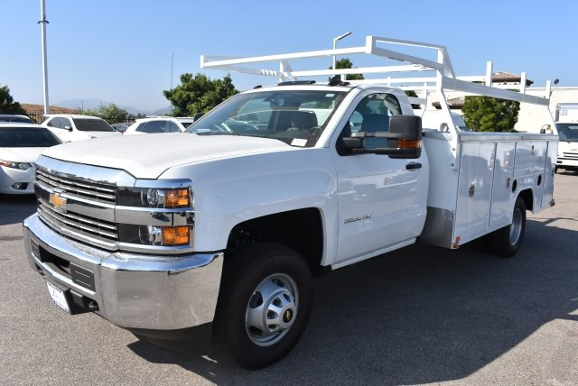 2017 Silverado 3500 Regular Cab DRW, Harbor Utility #M17680 - photo 5
