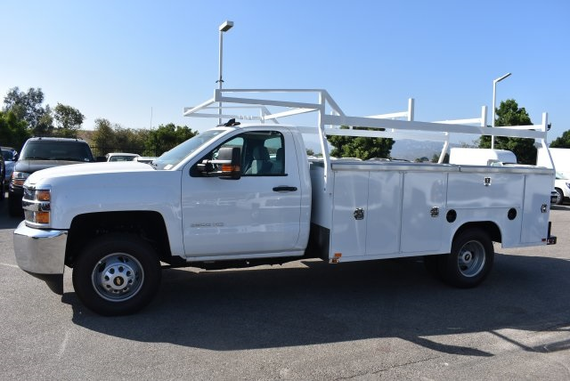 2017 Silverado 3500 Regular Cab DRW 4x2,  Harbor TradeMaster Utility #M17680 - photo 6