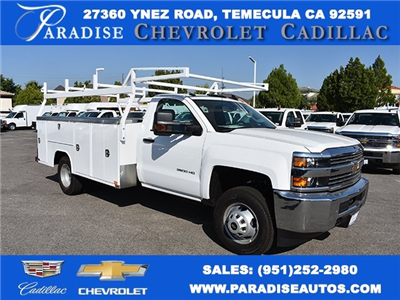 2017 Silverado 3500 Regular Cab DRW 4x2,  Harbor TradeMaster Utility #M17680 - photo 1