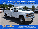 2017 Silverado 3500 Regular Cab DRW, Scelzi Utility #M17723 - photo 1