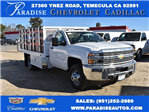 2017 Silverado 3500 Regular Cab DRW,  Royal Flat/Stake Bed #M17752 - photo 1