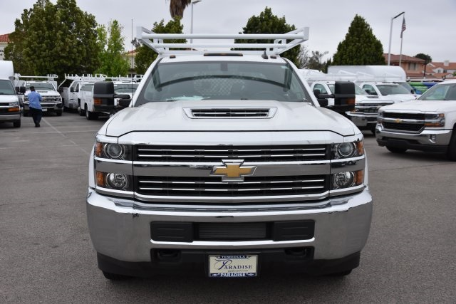 2017 Silverado 3500 Crew Cab DRW,  Harbor Contractor Body #M17783 - photo 4