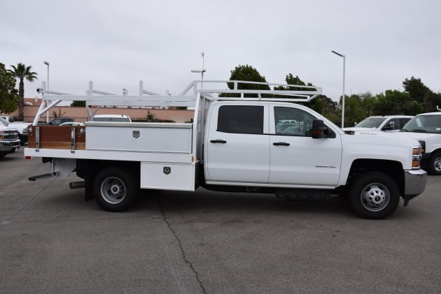 2017 Silverado 3500 Crew Cab DRW,  Harbor Contractor Body #M17783 - photo 9