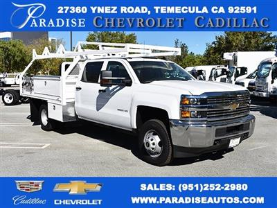 2018 Silverado 3500 Crew Cab DRW 4x2,  Harbor ComboMaster Combo Body #M18171 - photo 1