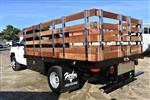 2018 Silverado 3500 Regular Cab DRW 4x2,  Harbor Black Boss Stake Bed Flat/Stake Bed #M18186 - photo 7
