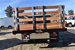 2018 Silverado 3500 Regular Cab DRW 4x2,  Harbor Black Boss Stake Bed Flat/Stake Bed #M18186 - photo 8
