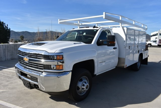 2018 Silverado 3500 Regular Cab DRW 4x2,  Harbor Combo Body #M18201 - photo 5